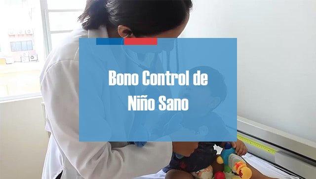 Bono Control de Niño Sano