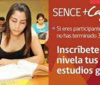 Inscríbete al Programa +Capaz Nivelación de Estudios 2017