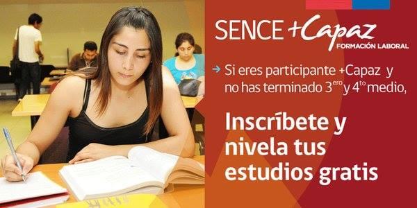 Programa SENCE Nivelación de Estudios