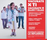 Campaña de Vacunación contra la Influenza 2017