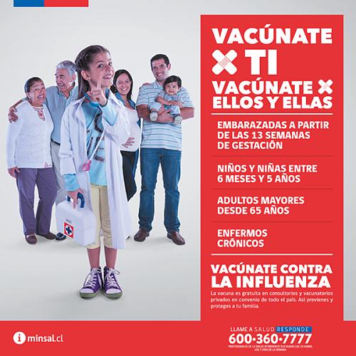 programa vacunacion influenza 2017 chile