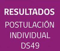Consulta AQUÍ los resultados del primer llamado Subsidio DS49 2017