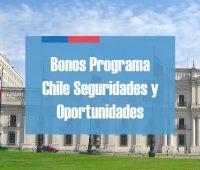 Los 6 bonos que entrega el Programa Chile Seguridades y Oportunidades