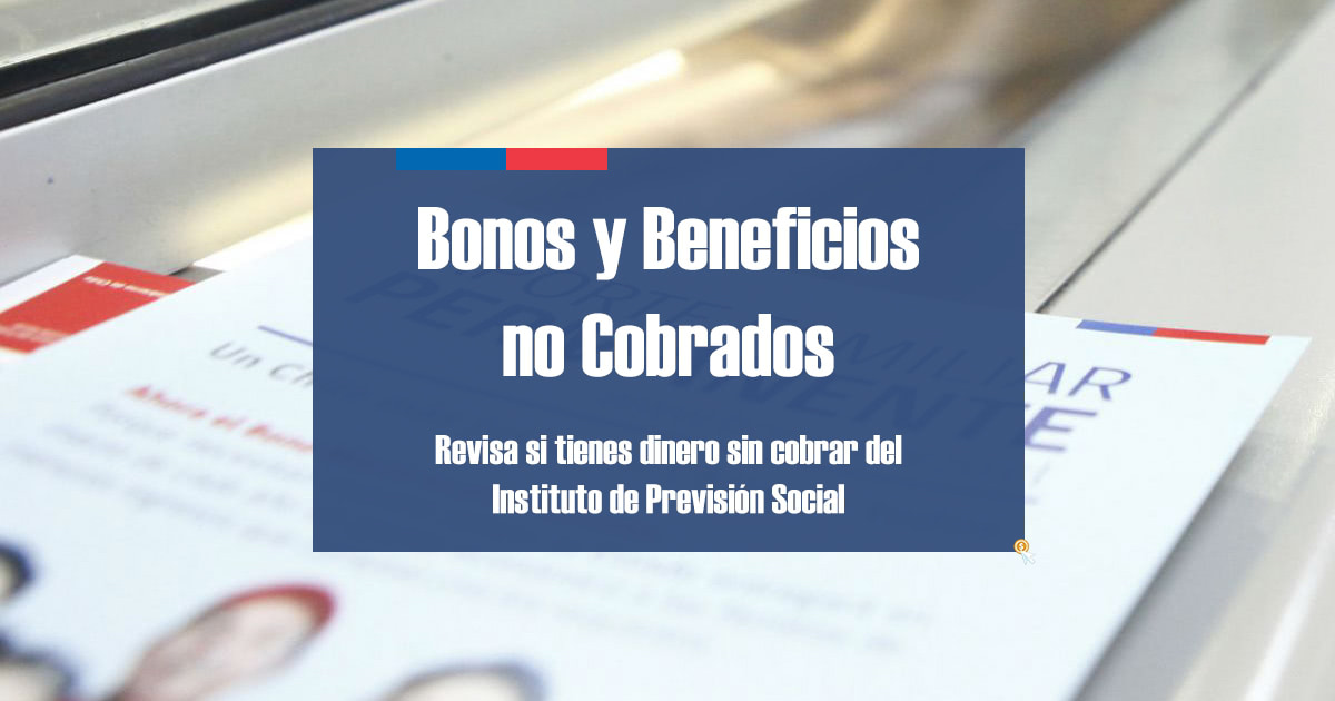 Bonos y Beneficios no cobrados