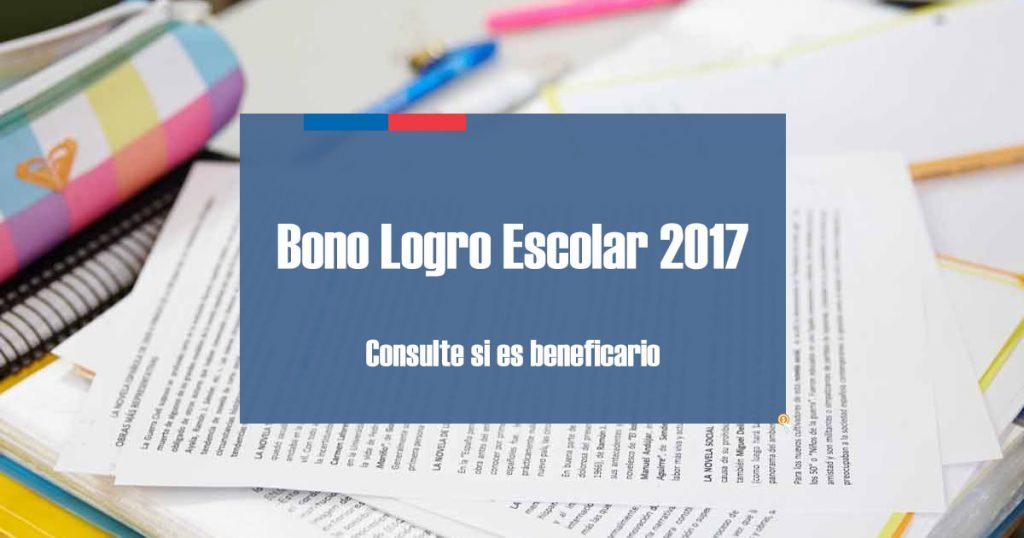 Bono Logro Escolar 2017