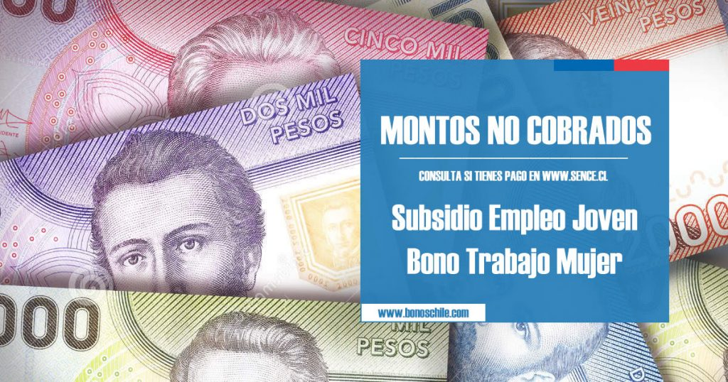 Montos no cobrados beneficios SENCE