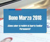 Bono Marzo 2018: ¿cómo saber si eres uno de los beneficiarios?