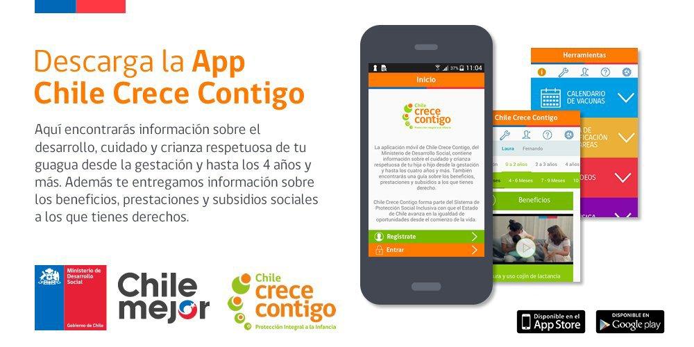 app Chile Crece Contigo