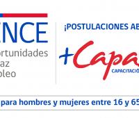 """Abiertos los primeros cursos 2018 """"Capacitación en Oficios"""" del SENCE"""