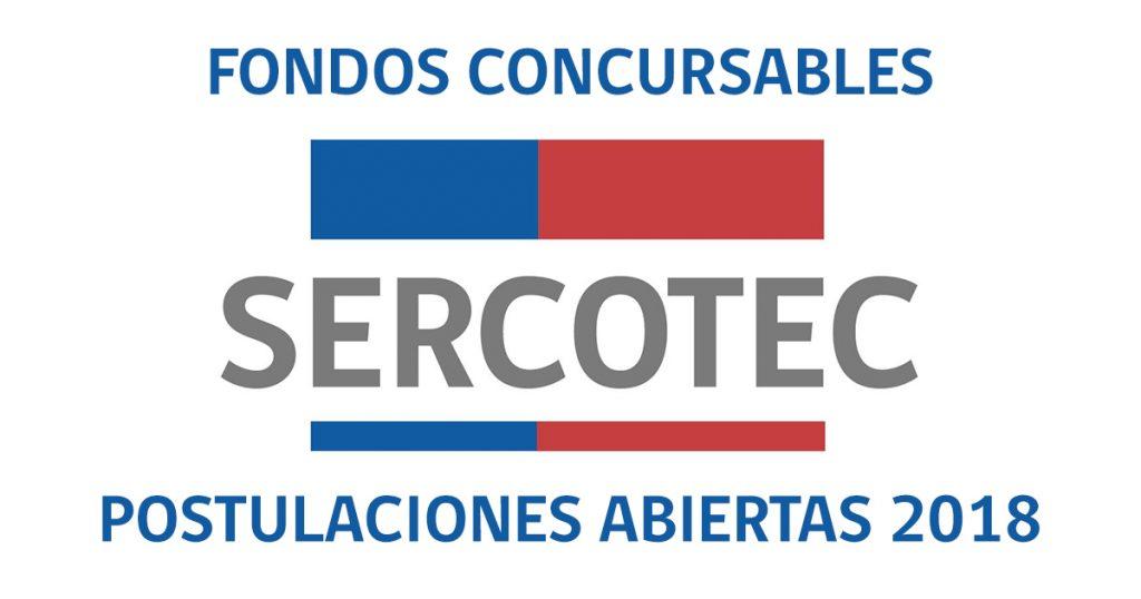 Fondos Concursables SERCOTEC 2018