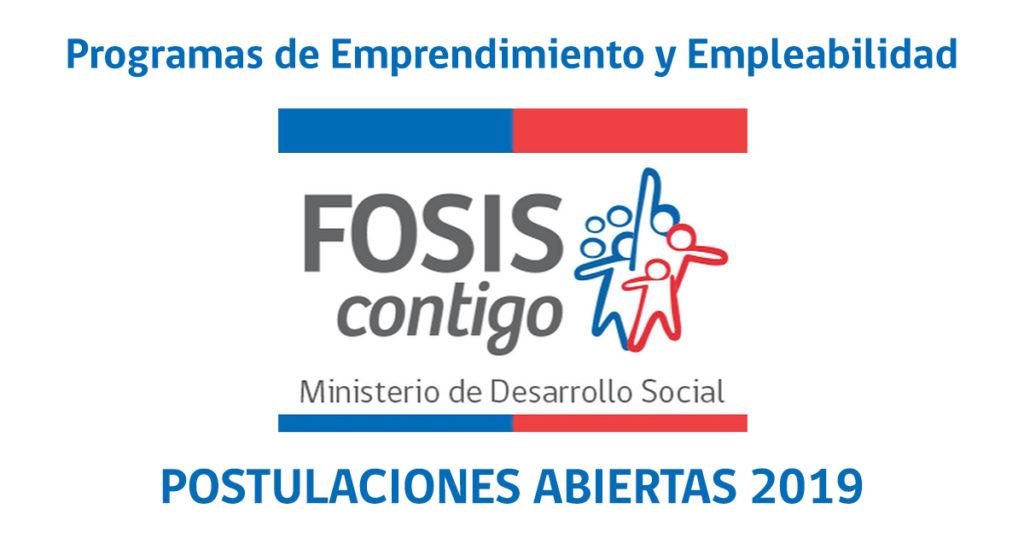 Programas FOSIS 2019