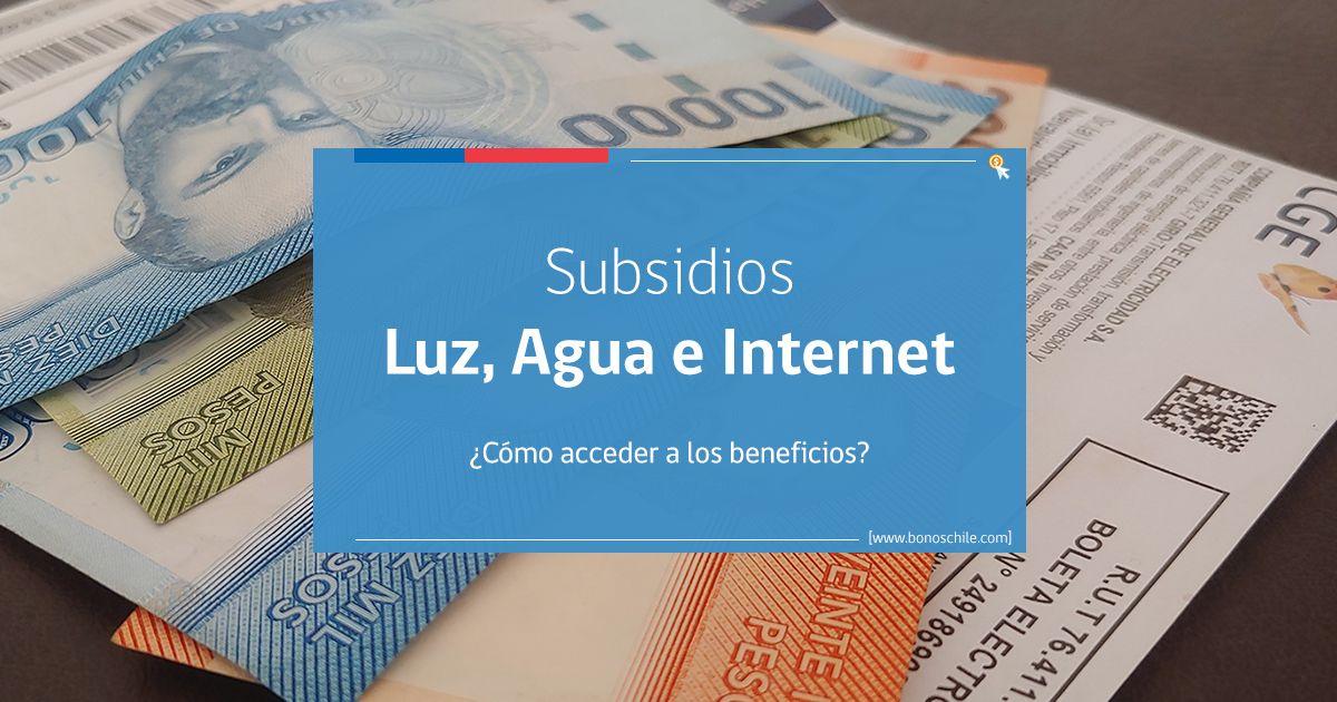 Subsidio de Luz, Agua e Internet Coronavirus