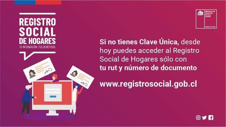 registro social de hogares clave única