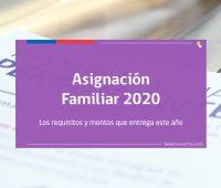 «Asignación Familiar 2020» Montos y cómo solicitar el beneficio