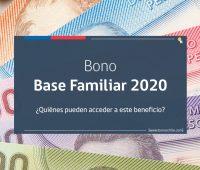 «Bono Base Familiar 2020» ¿Cuánto dinero entrega y cuáles son los requisitos para recibirlo?
