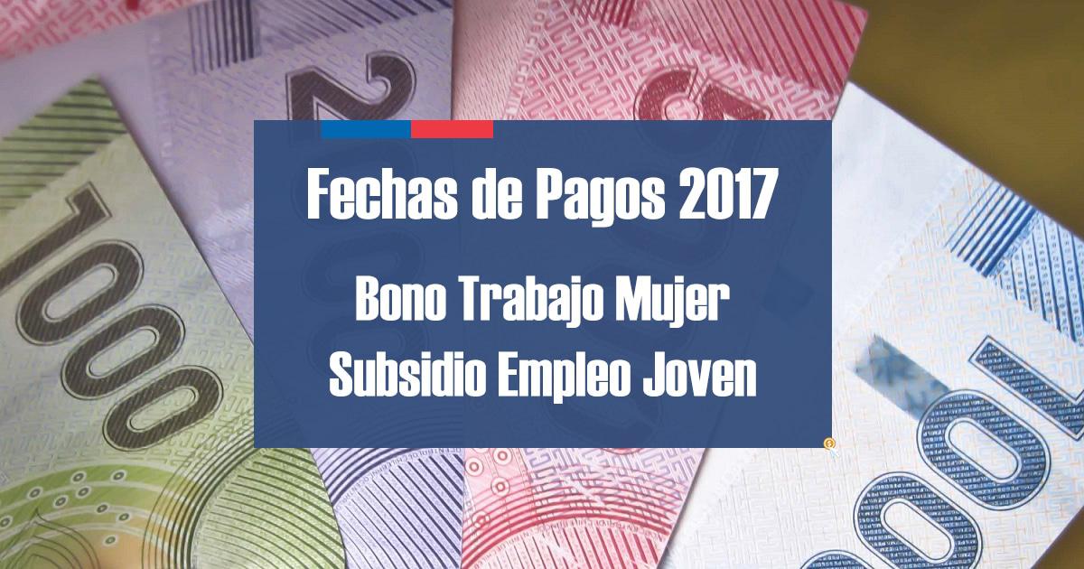 Fechas de pagos SENCE 2017