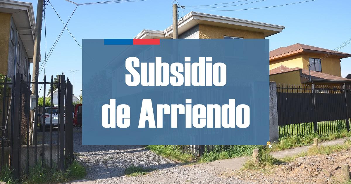 Subsidio de Arriendo