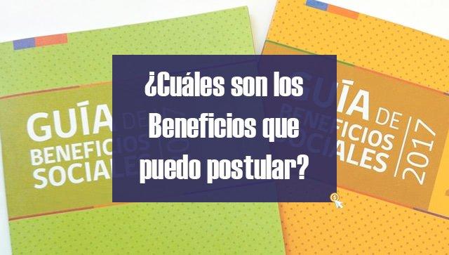 Guías Beneficios Sociales 2017 Gobierno de Chile