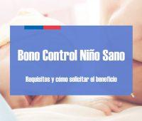 Bono Control de Niño Sano al día