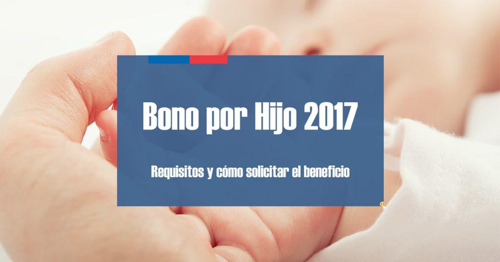 Bono por Hijo 2017