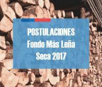 Abiertas las postulaciones al Fondo Más Leña Seca 2017