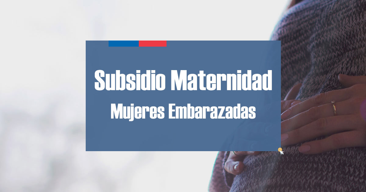 Subsidio Maternidad Mujer Embarazada