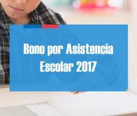 ¿Cómo saber si recibiré el Bono por Asistencia Escolar 2017?
