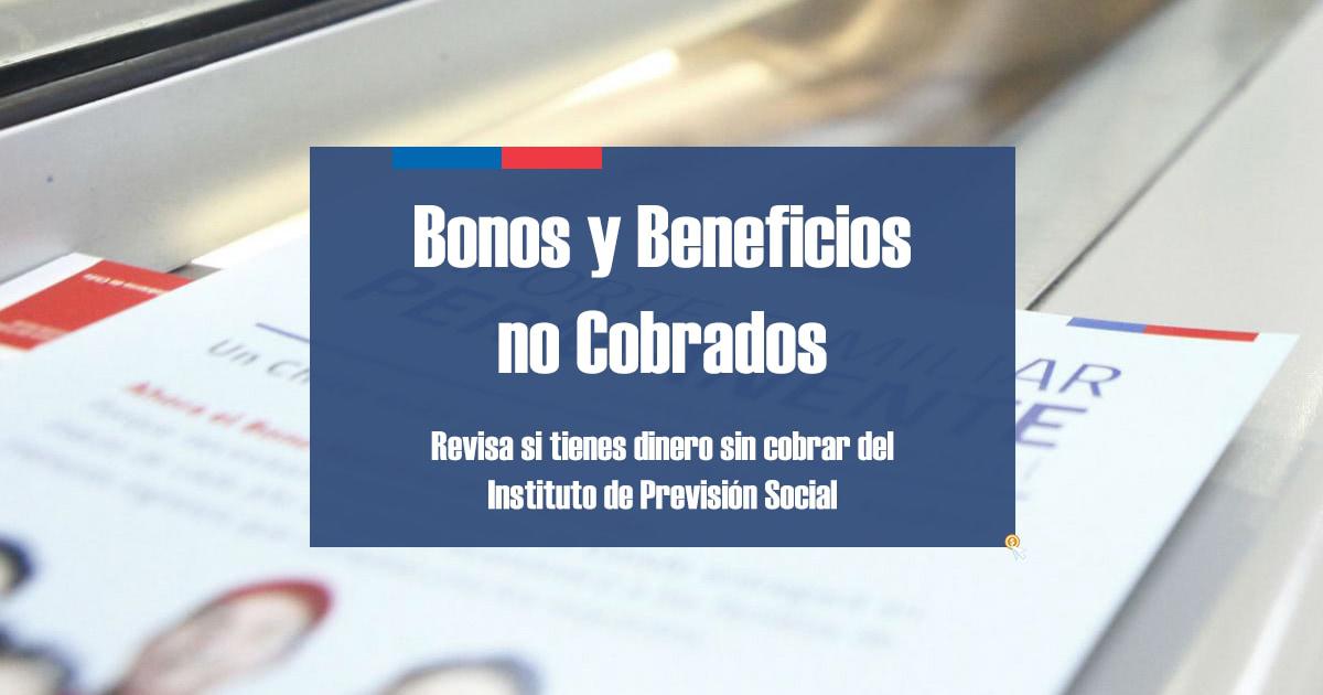 Bonos y Beneficios no cobrados