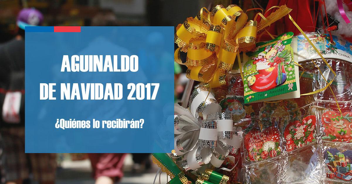 Aguinaldo de Navidad 2017