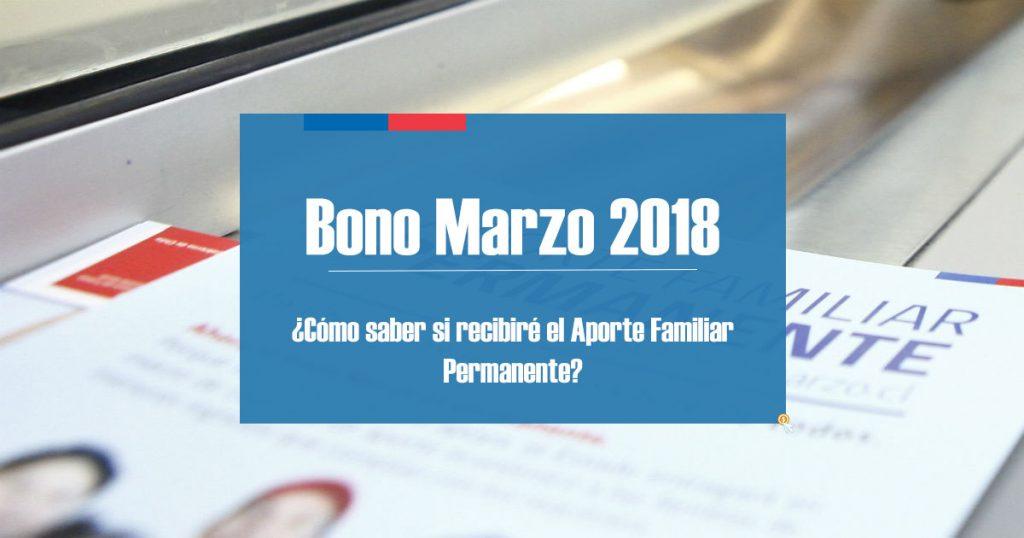 Bono Marzo 2018