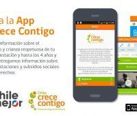 Descarga la nueva aplicación para Android e iOS Chile Crece Contigo