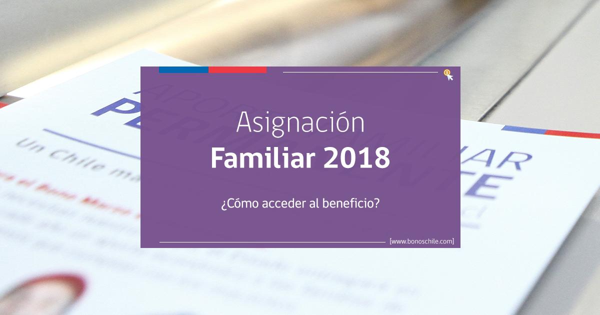 Asignación Familiar 2018