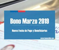 Bono Marzo 2019: Conoce la nueva fecha de pago y si serás beneficiado