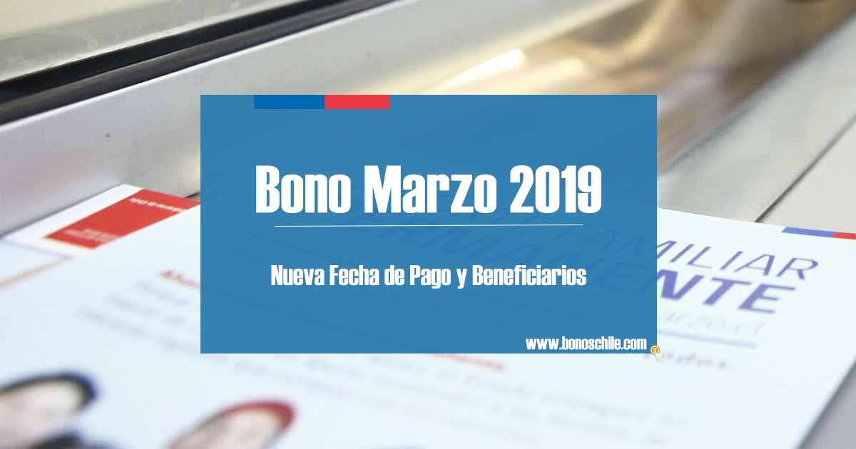 Bono Marzo 2019