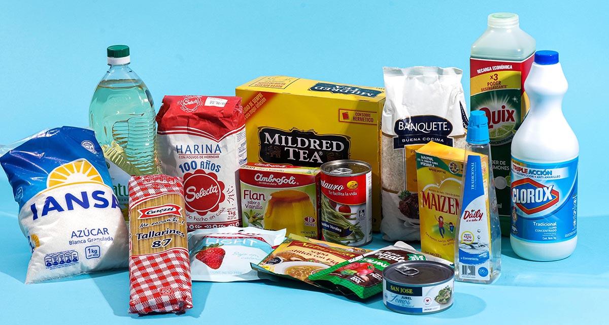 alimentos canastas del gobierno
