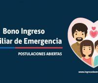 Con tu RUT podrás saber si eres beneficiario o postular al Bono Ingreso Familiar de Emergencia