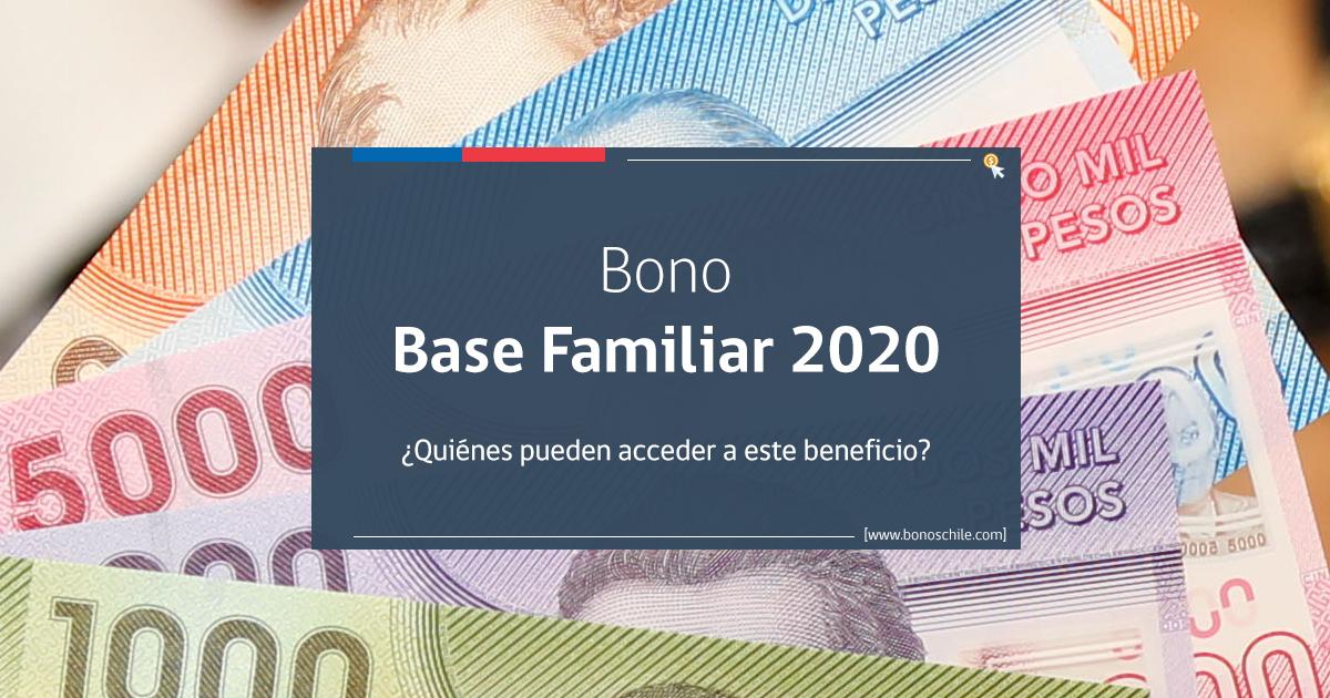 bono base familiar 2020 requisitos