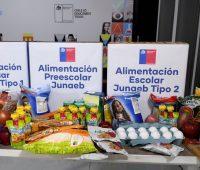 Nueva entrega de Canastas con Alimentación de Junaeb, revisa quiénes serán beneficiados