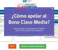 ¿Apelaste? Revisa cuándo recibirás la respuesta a la solicitud del Bono Clase Media