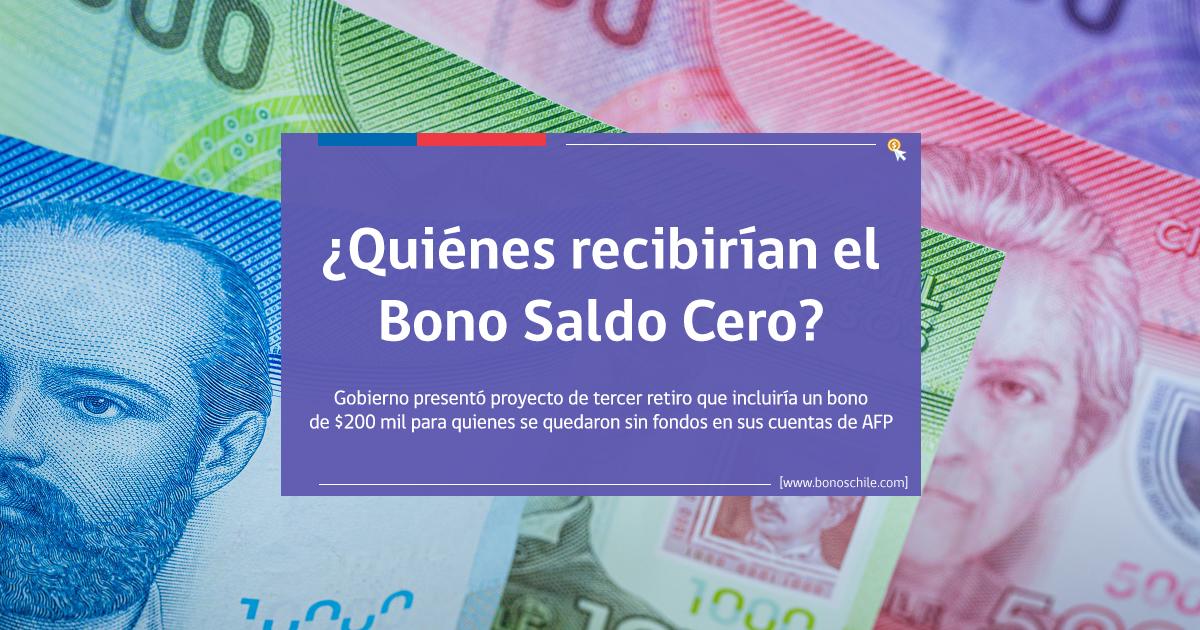 beneficiarios bono saldo cero