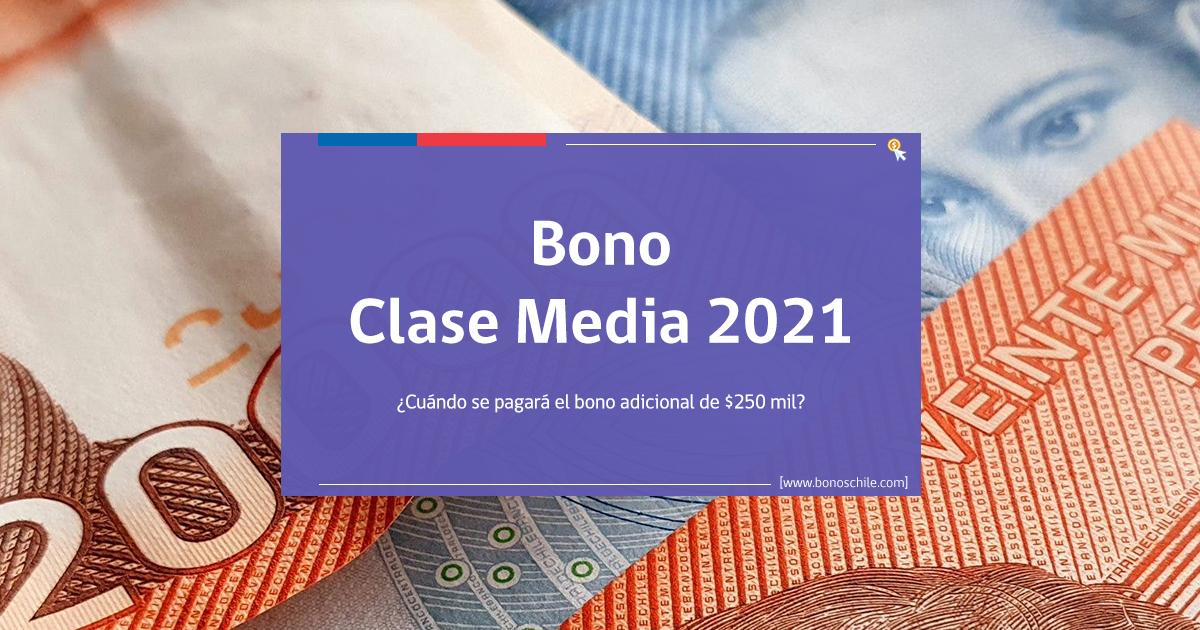 bono adicional bono clase media 2021