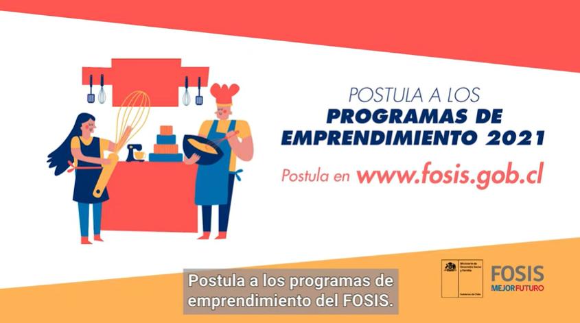 postulación programas fosis 2021