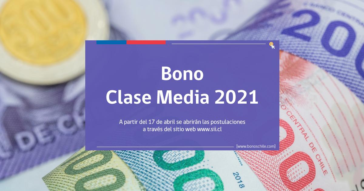 postulaciones bono clase media 2021