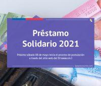 Préstamo Solidario 2021: Revisa cuándo postular y las fechas de pagos