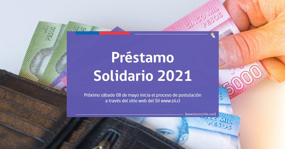 postulaciones préstamo solidario 2021