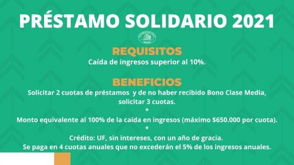 proyecto préstamo solidario 2021