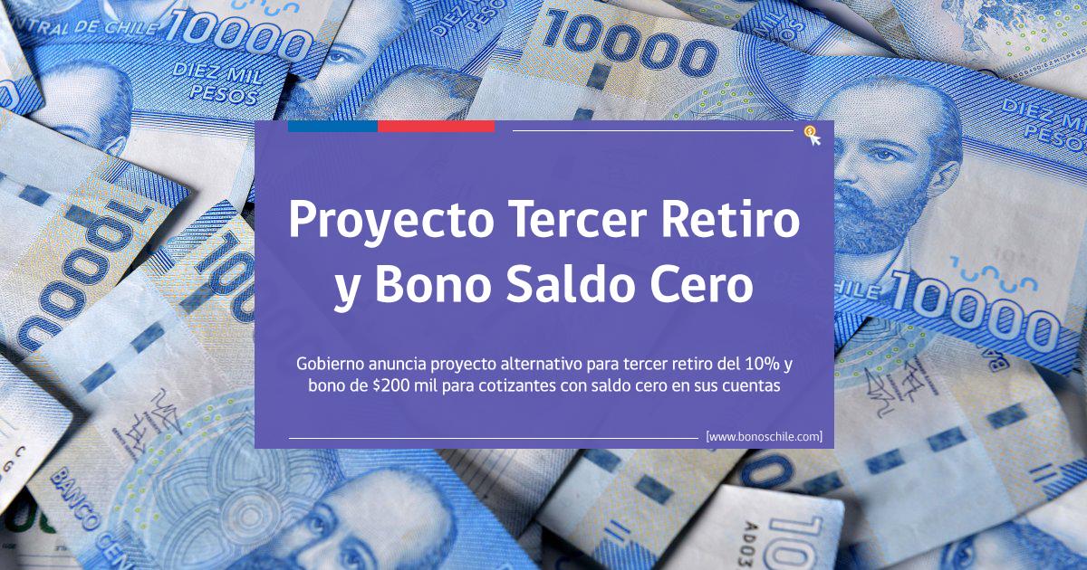proyecto tercer retiro fondos y bono saldo cero