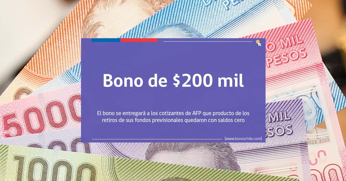 bono de $200 mil beneficiarios