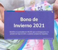 Bono de Invierno 2021: Requisitos, Montos y Fechas de Pago a Beneficiarios