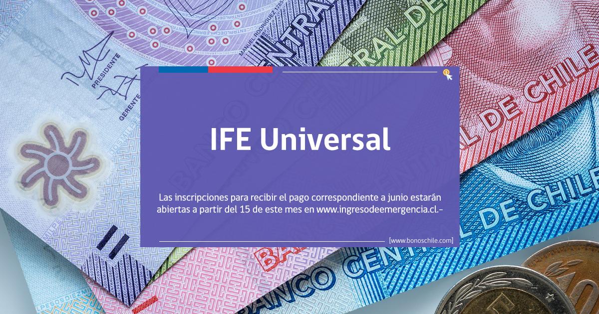 IFE Universal beneficio automático